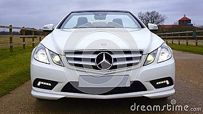 White Mercedes-benz Car Free Public Domain Cc0 Image
