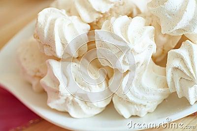 White meringue