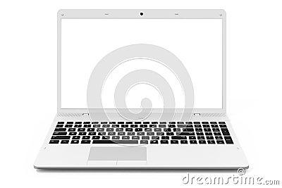 White mobility laptop