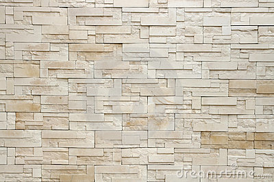 White modern Brick Wall