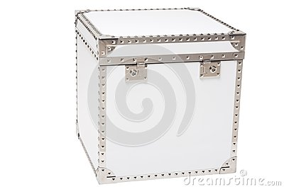 White modern chest
