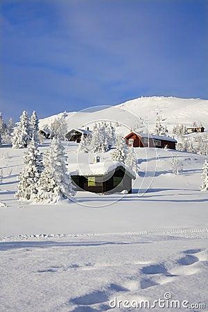 White Mountain Christmas Cabins