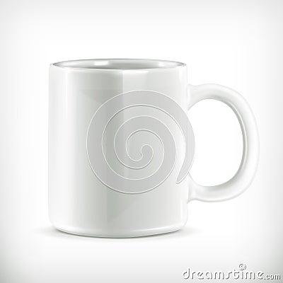 White mug illustration