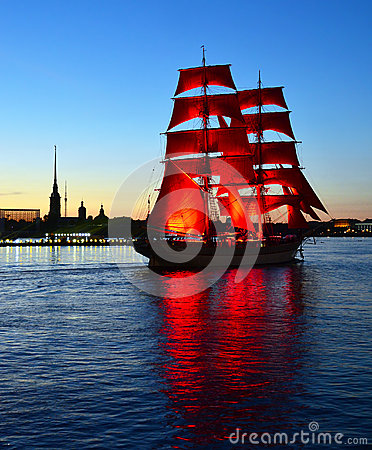 Free White Night Of St.Petersburg, Russia Royalty Free Stock Image - 25404166