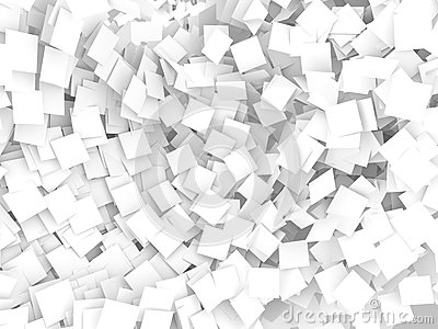 White note papers  background