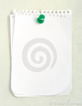 White Notebook Paper
