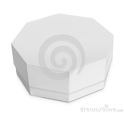 Free White Octagon Shaped Box Royalty Free Stock Photography - 36809897