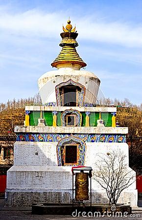 Free White Pagoda Stock Images - 19833344