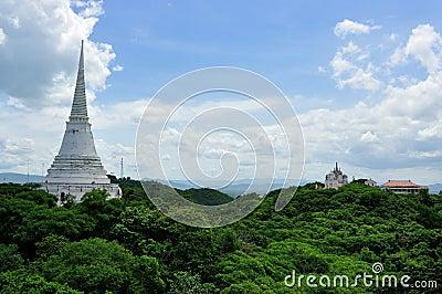 White Pagoda in Khao Wang Royal Palace