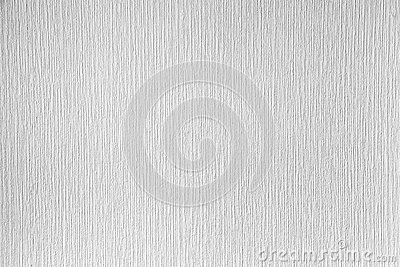 White paintable wallpaper on the wall clean background te stock photo