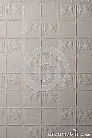 White Painted Metal Background Retro