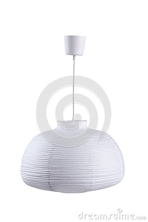 White paper ceiling lamp