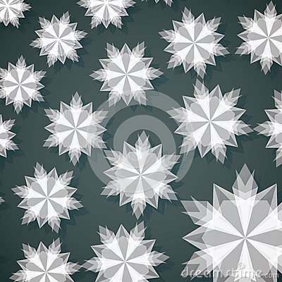 White Paper Christmas Snowflake