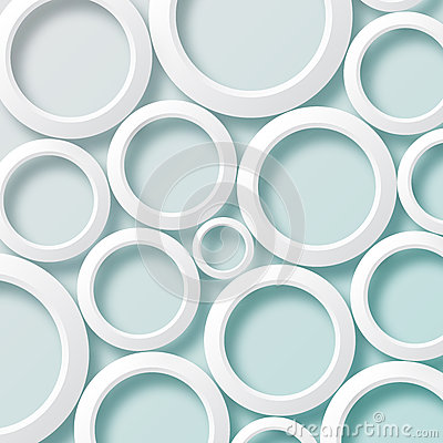 Free White Paper Circles Background1 Stock Photo - 38809100