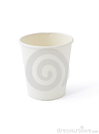 Free White Paper Cup Stock Photography - 6231512