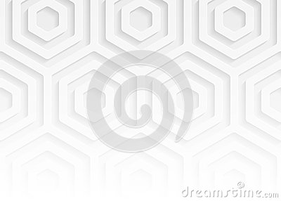 White paper geometric pattern, abstract background template for website, banner, business card, invitation Vector Illustration
