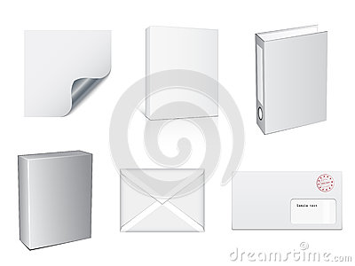 White paper objects
