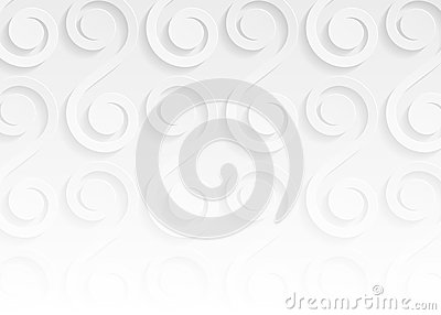 White paper pattern abstract background Vector Illustration
