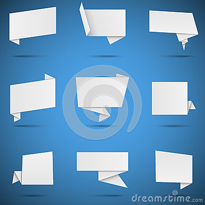 White Paper Speech Bubbles