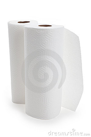 Free White Paper Towel Roll Stock Images - 14294204