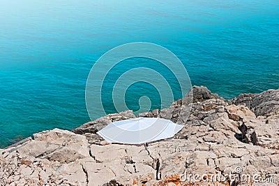 White Parasol Beach