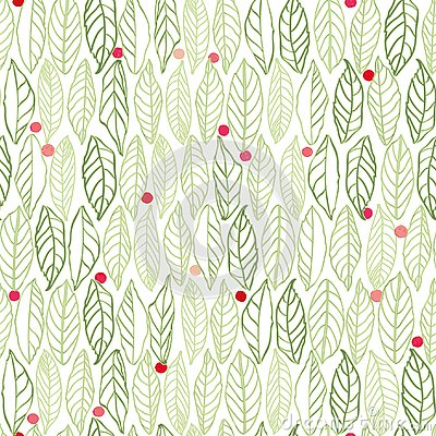 Free White Pattern With Leaves Dots Stock Photo - 133603010