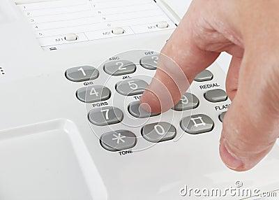 White phone