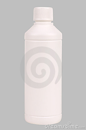 Free White Plastic Bottle Stock Image - 1969381
