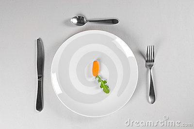 White Plate and Diet
