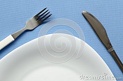 White plate fragment