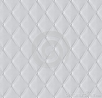 White Quilted Leather Tiled Texture Stock Photos Image