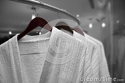 White robes