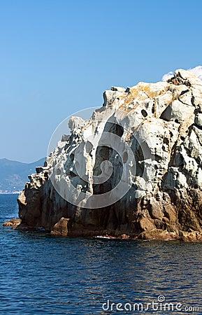 White Rock, Elba Island, Italy