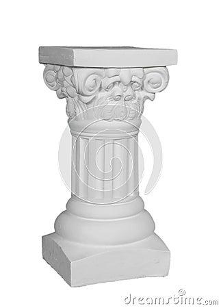 White Roman Pillar