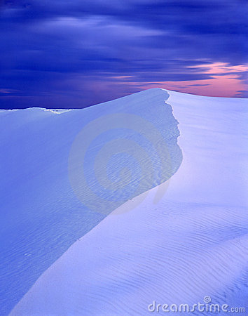 Free White Sands Evening Royalty Free Stock Photos - 649418