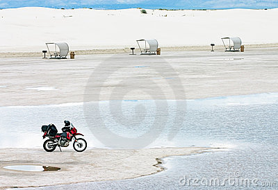 White Sands Motorcycle