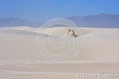 The White Sands Nat. Park.