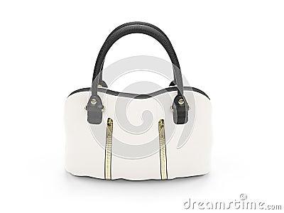 White satchel