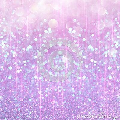 Pink And White Christmas Lights