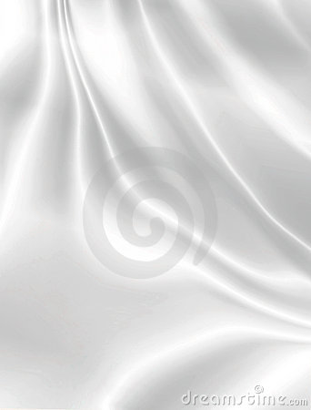 White Smooth Satin Background