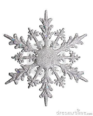 Free White Snow Flake Royalty Free Stock Image - 3555086
