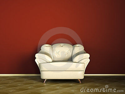 White sofa or couch