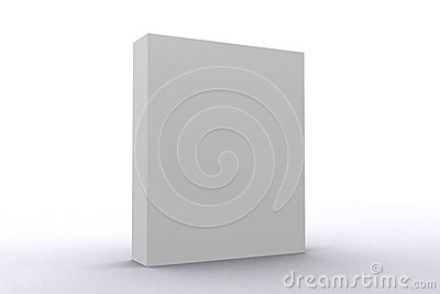 White software Package box