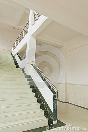 White  Stair Stock Photography - Image: 25268752