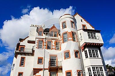 White Stone building in Edinburgh