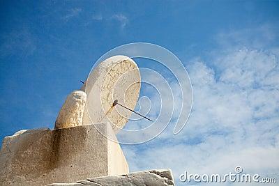 White Stone Sundial