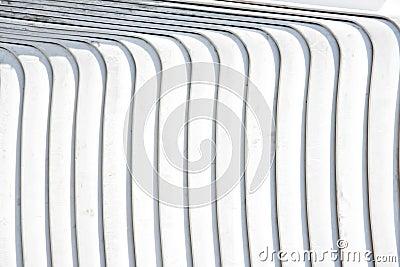 White striped plastic background