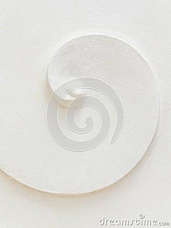 White stucco pattern