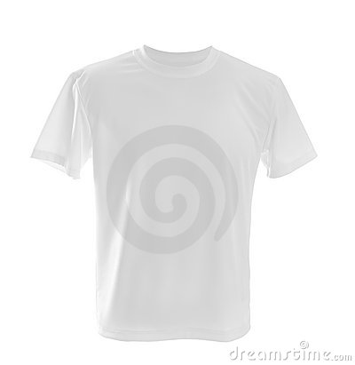 Free White T-shirt Royalty Free Stock Photos - 19019088