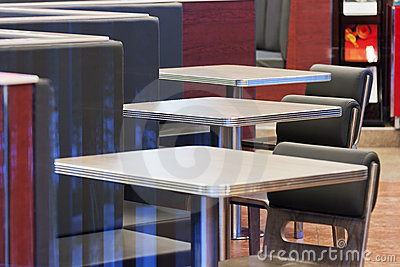 White  Table  In Hotel Royalty Free Stock Image - Image: 21292396
